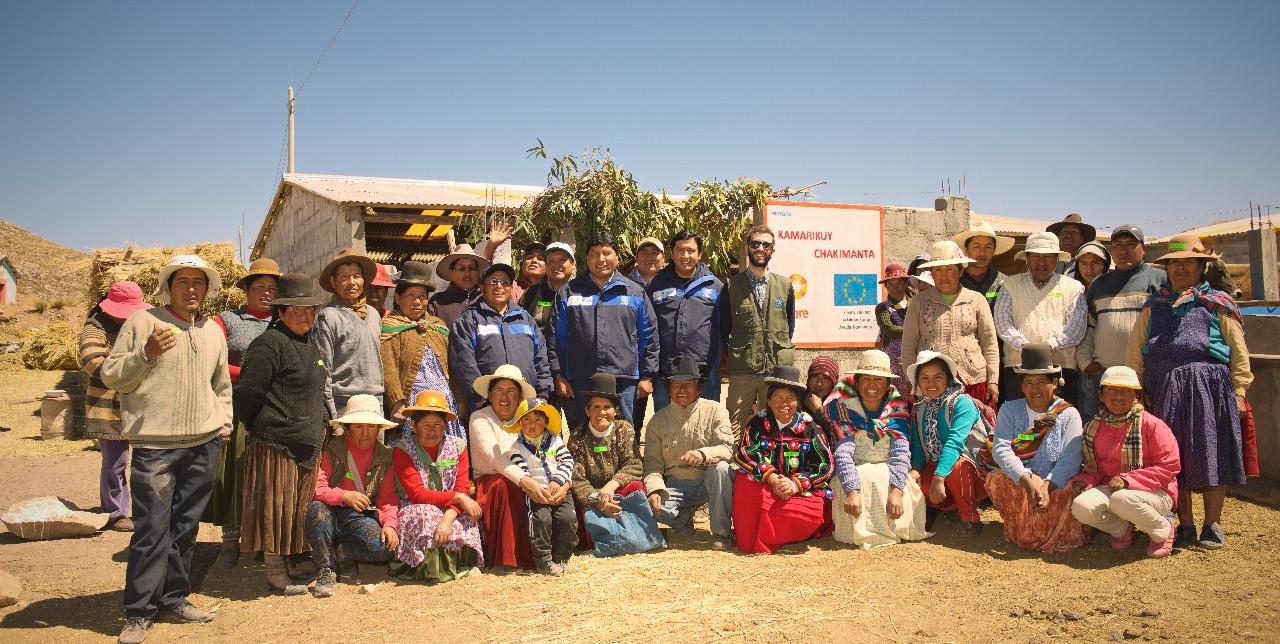 """Conclusione del progetto """"Kamarikuy Ch'akimanta"""" in Perù"""