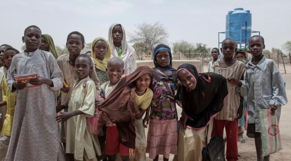 Protezione dei bambini colpiti dalla crisi nella Regione del Lago