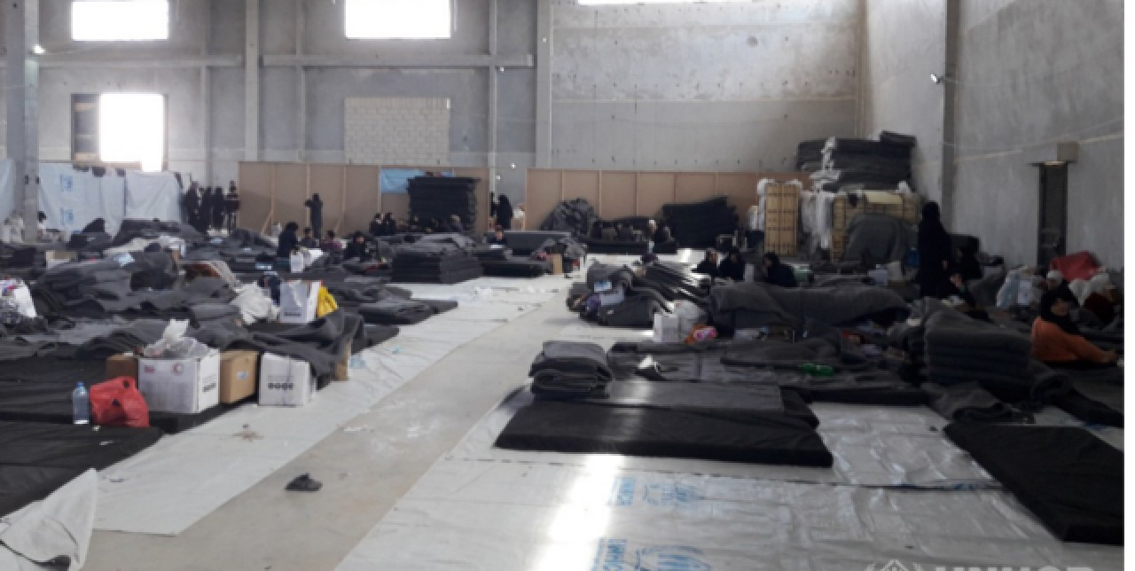 Hot meals provision for 8,000 IDPs fleeing from East Ghouta