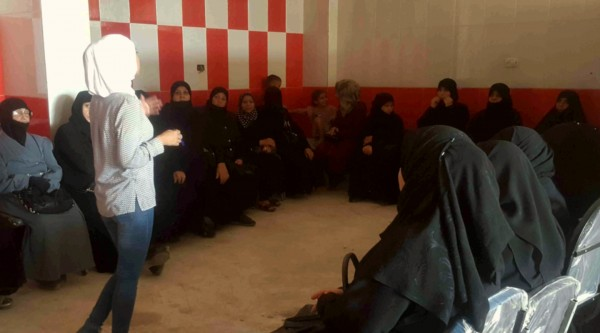 Humanitarian assistance in community centres for East Aleppo population