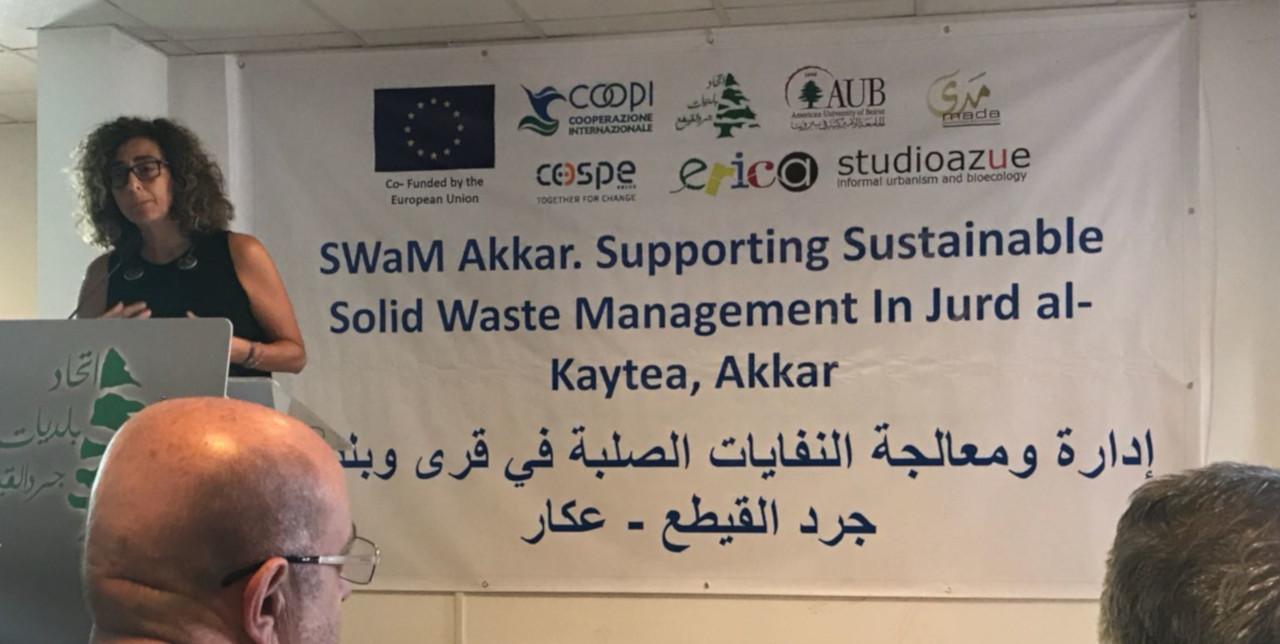 Libano: un Piano generale per la gestione dei rifiuti solidi