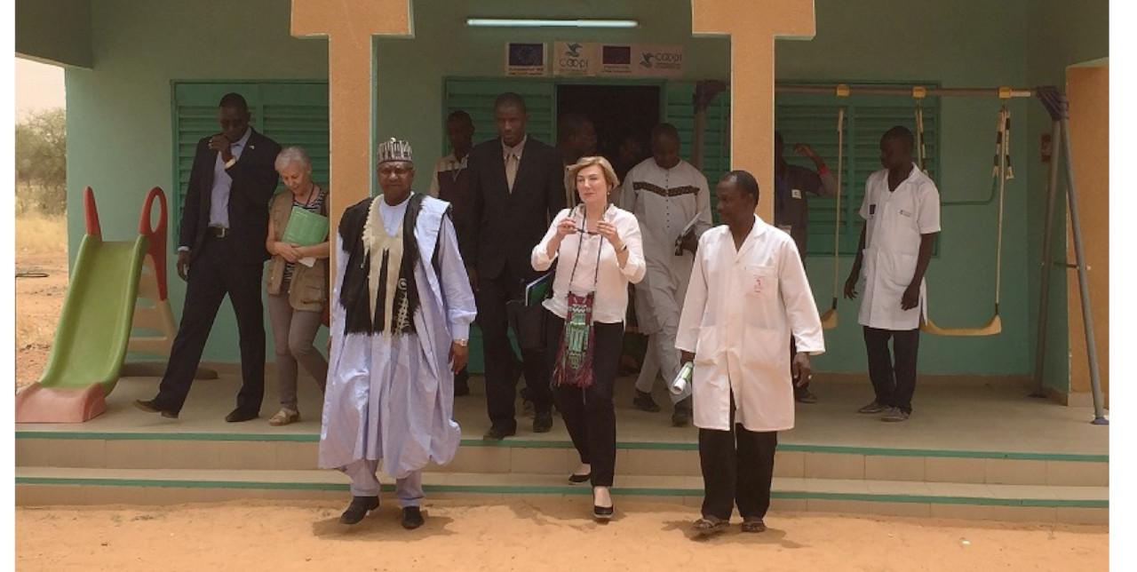 L'ambasciatrice UE in Niger in visita a Tillabery