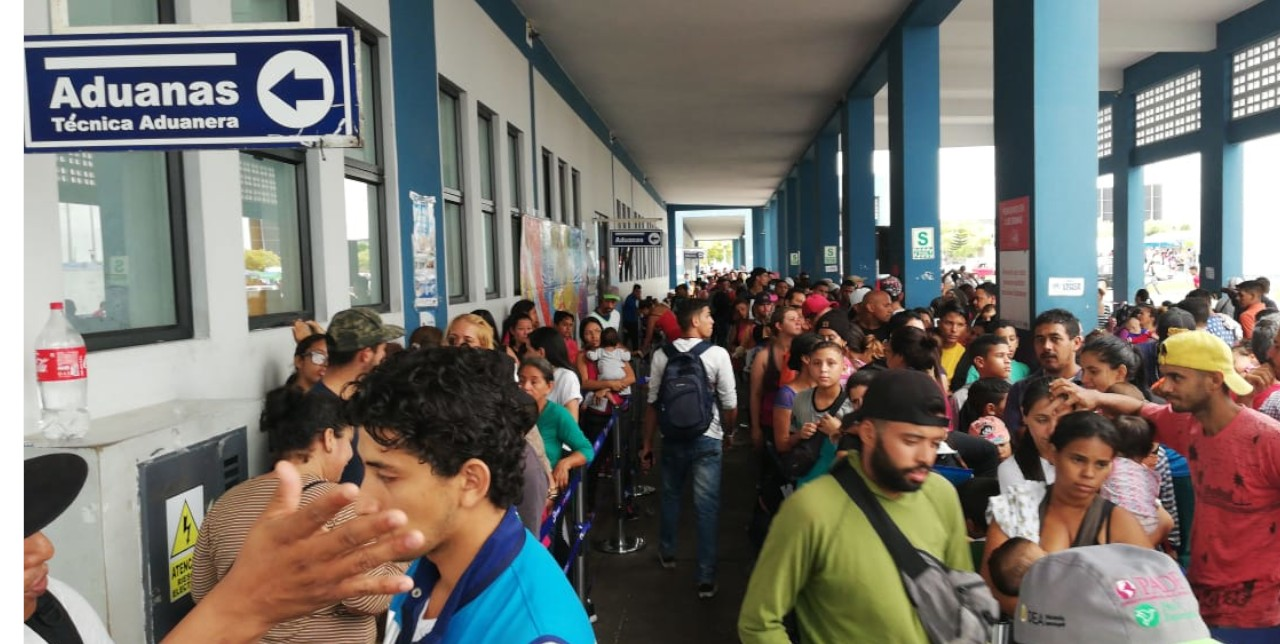 Peru: Venezuelan migrant flow reaches its highest level