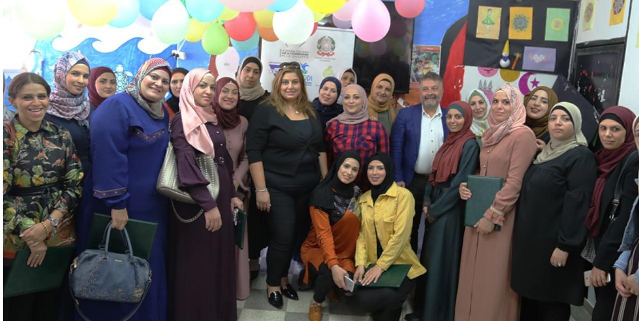 Empowerment delle donne: cerimonia di consegna dei diplomi a Gerusalemme Est