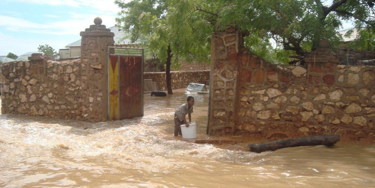 Berdale. A Somali town under water