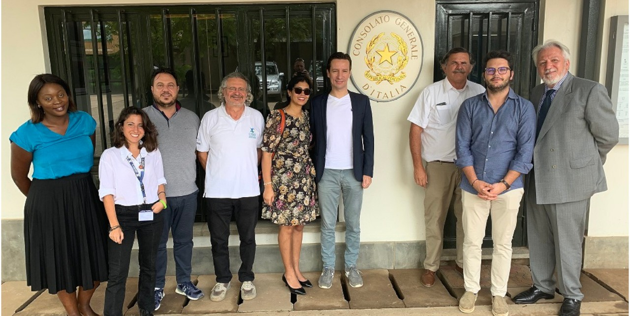 DRC: COOPI meets the Consul and Ambassador of Italy