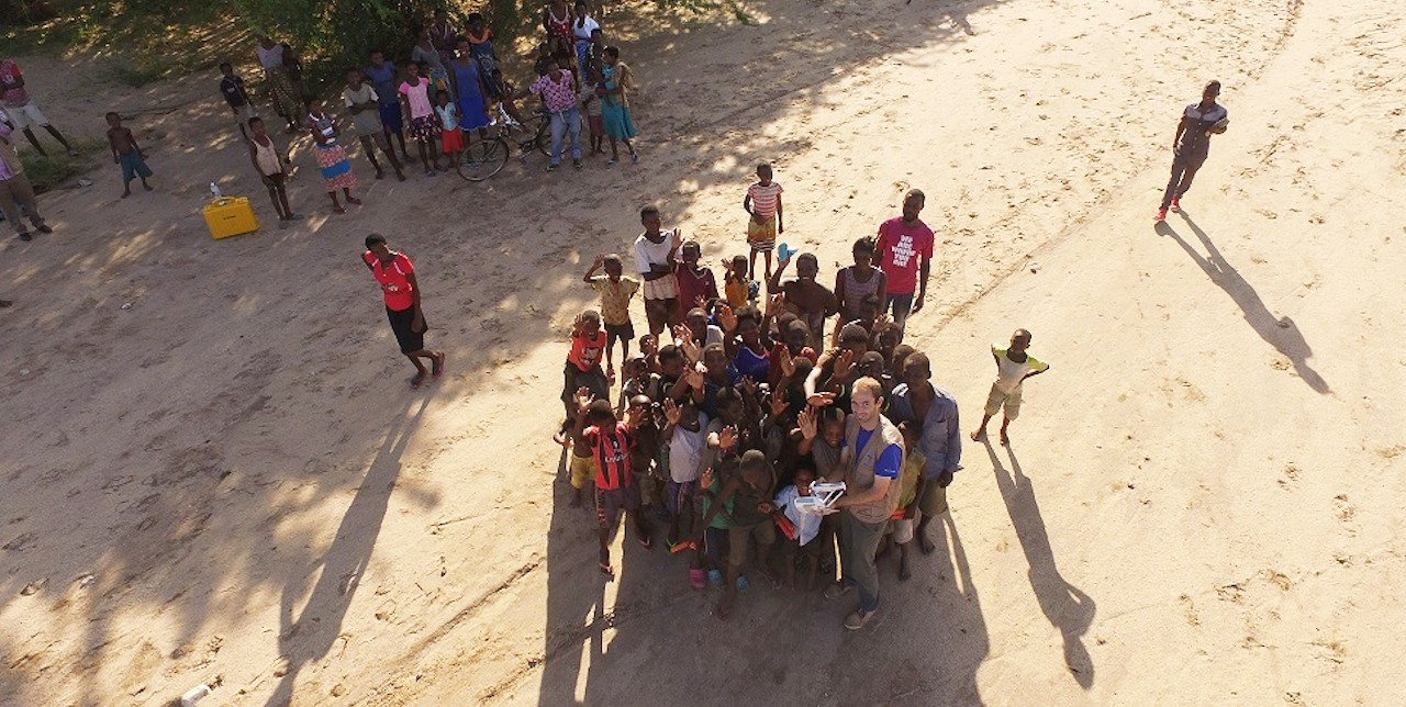 Drones in Malawi: an interagency mission to estimate flood damage