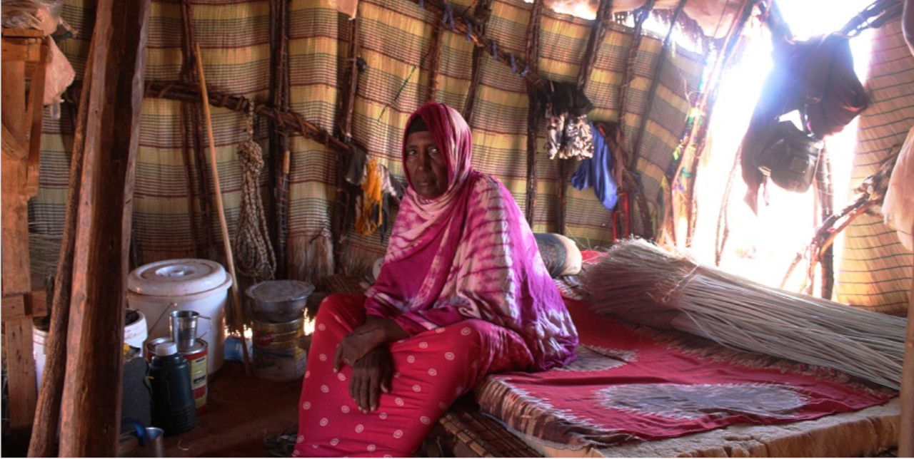 Somalia. Abdiyo, the change maker in the Village Committee