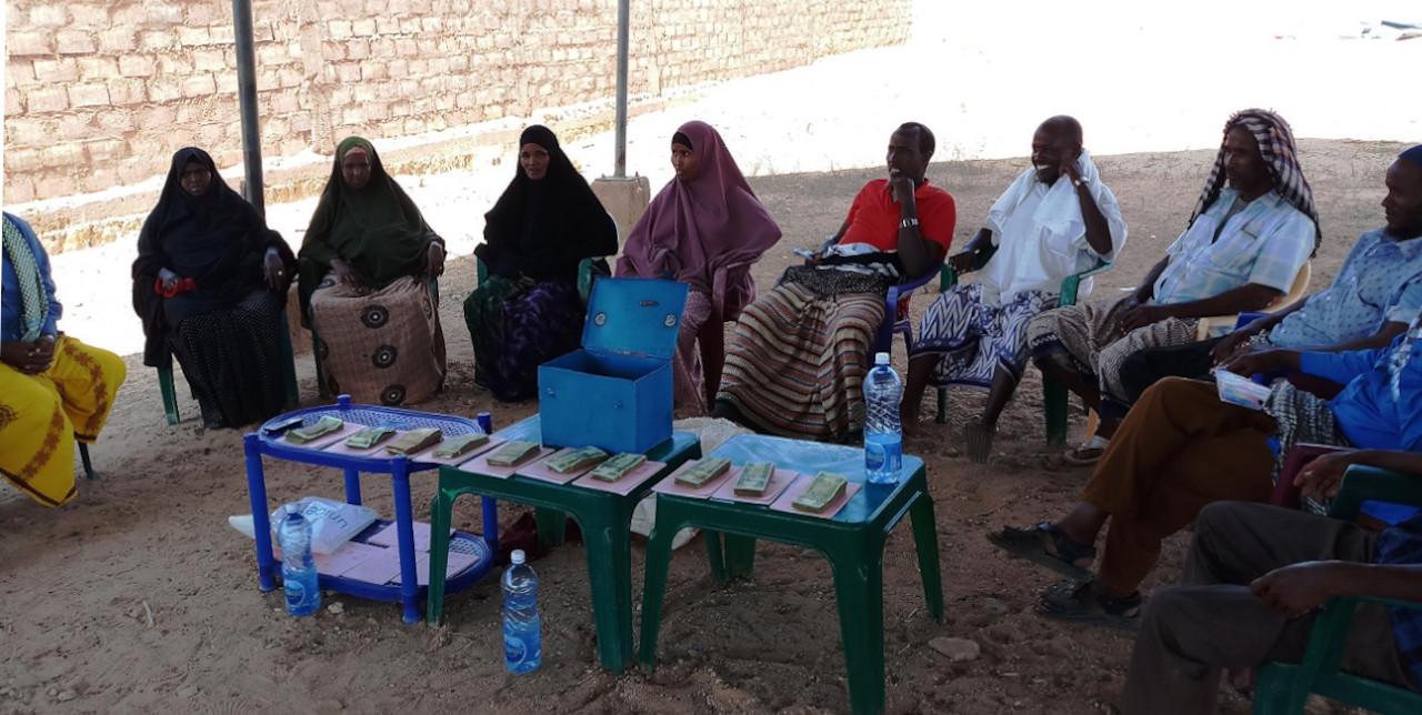 Somalia. Village Saving and Loan Association empowers women in Shriko village