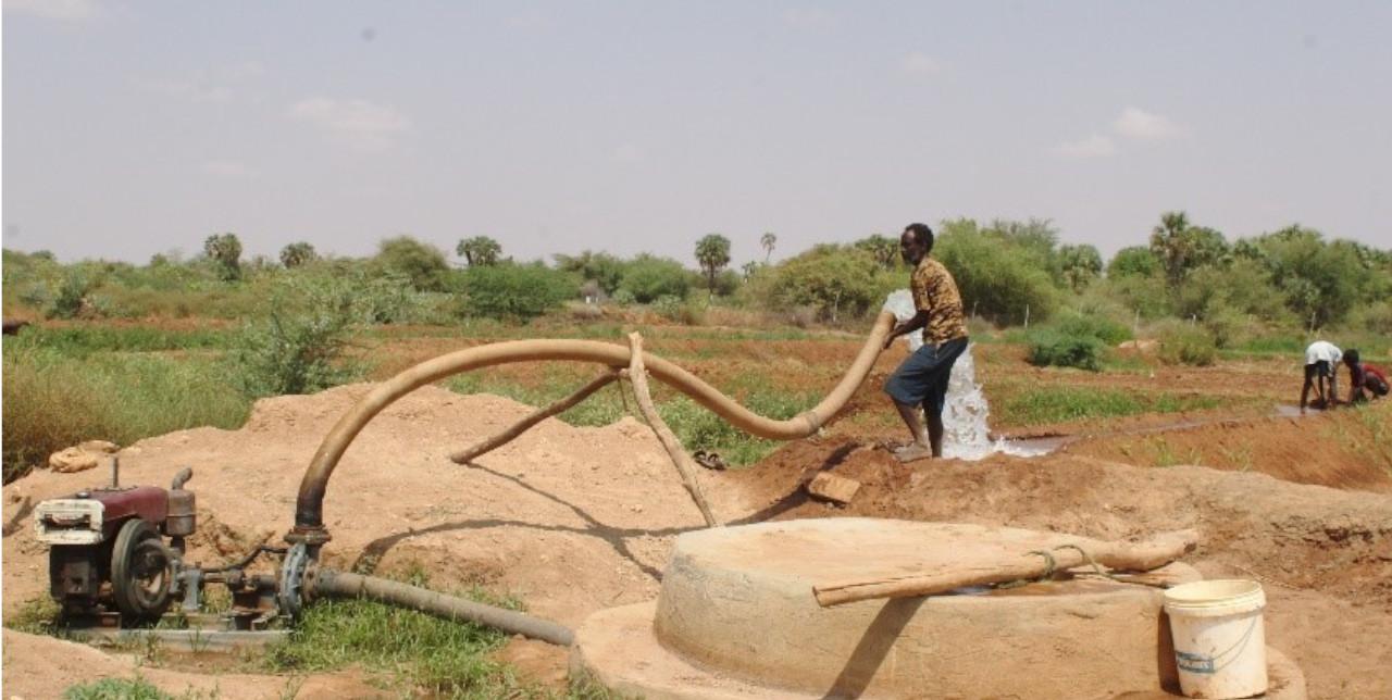 Somalia. Shallow well building resilience among agropastoral families