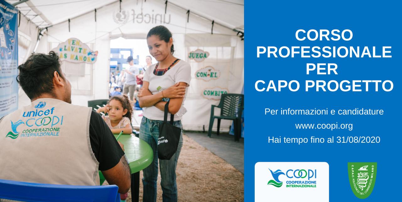 Vuoi diventare Capo progetto nella cooperazione internazionale?