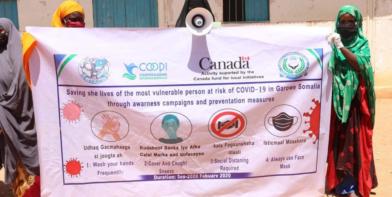 Somalia. COOPI rafforza la risposta al COVID-19 nelle comunità più a rischio