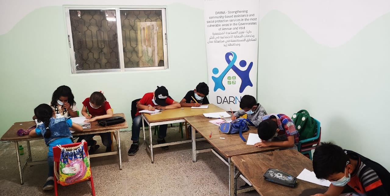 Giordania. COOPI impegnata nella protezione dei bambini grazie alla Cooperazione Italiana