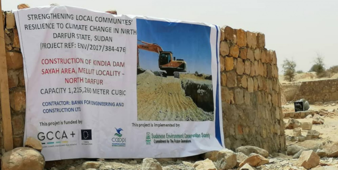 Nord Darfur. Una nuova diga fornirà acqua a 10.000 famiglie