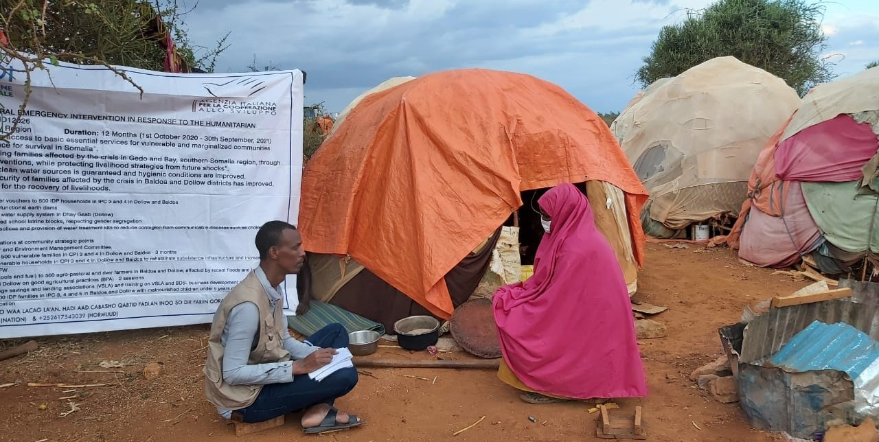 Somalia. Mrs. Isho Ibrahim Hassan can now save money for her and her family