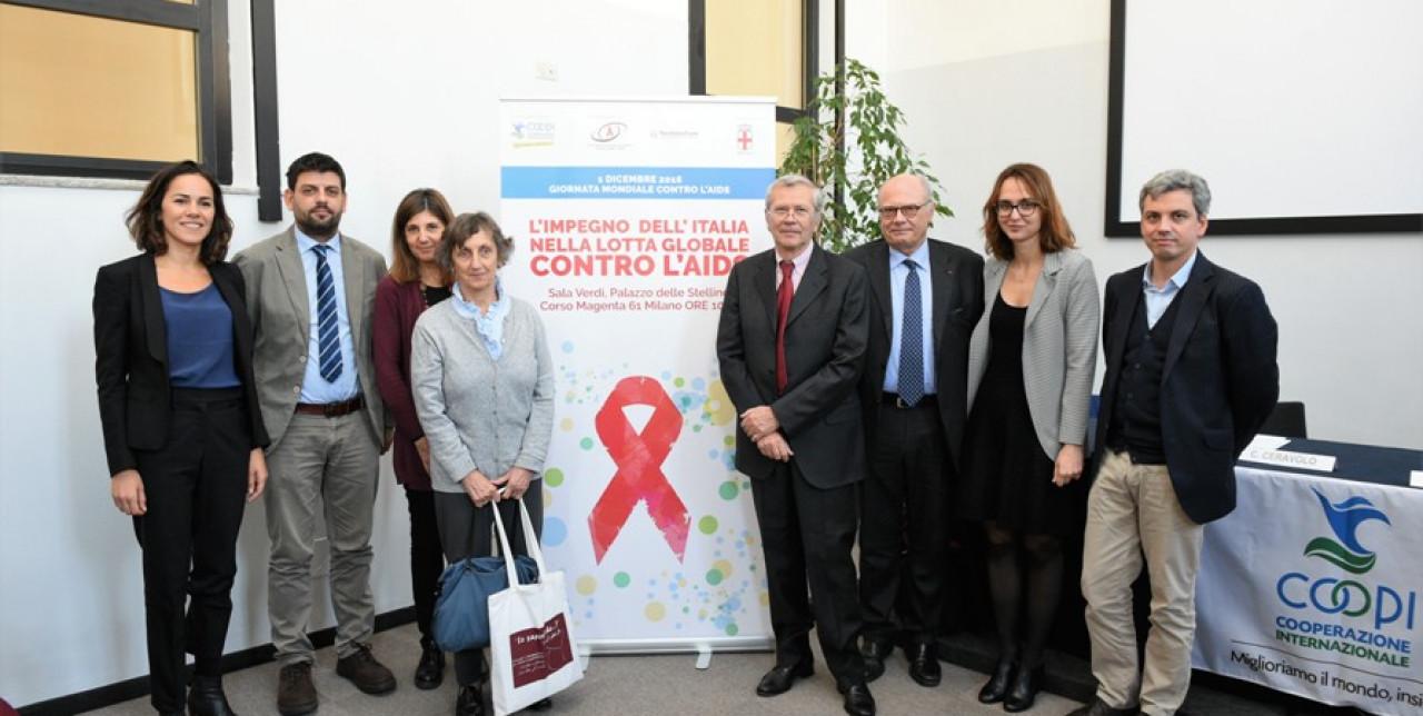 L'impegno dell?Italia nella lotta globale contro l'AIDS