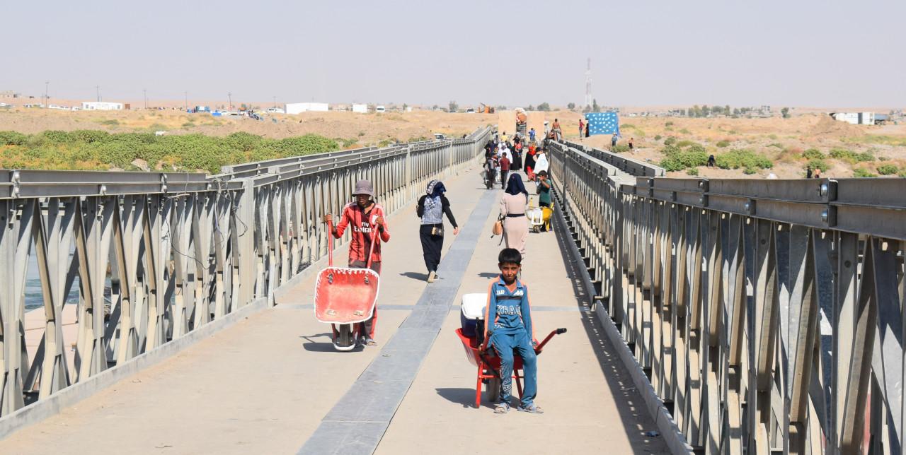 Quel ponte che dà speranza a 1200 bambini