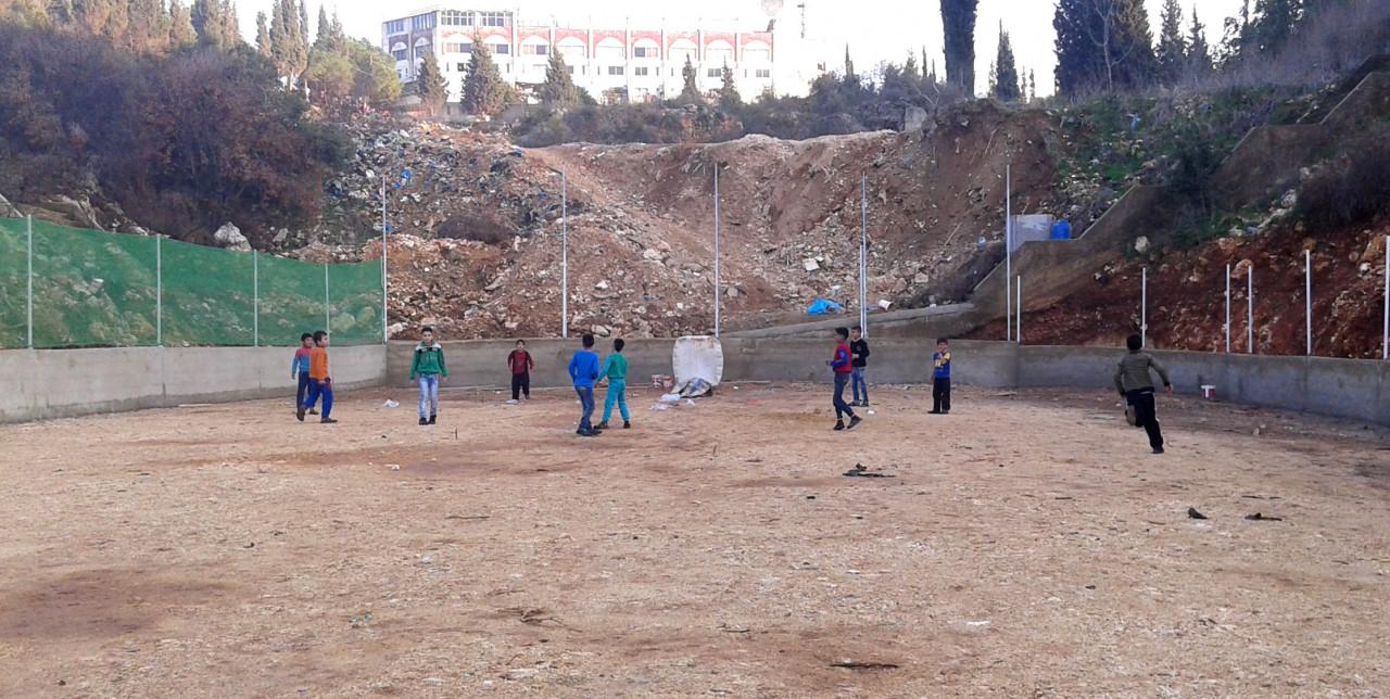 Libano: spazio allo sport per i rifugiati siriani