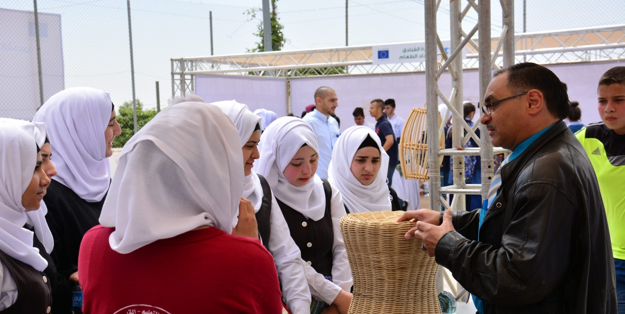400 students for the First Vocational Educational Expo