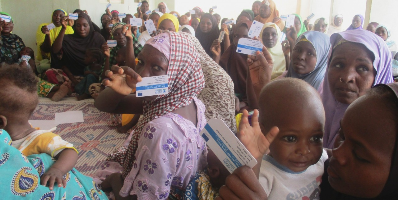 Local communities in Nigeria take in refugees