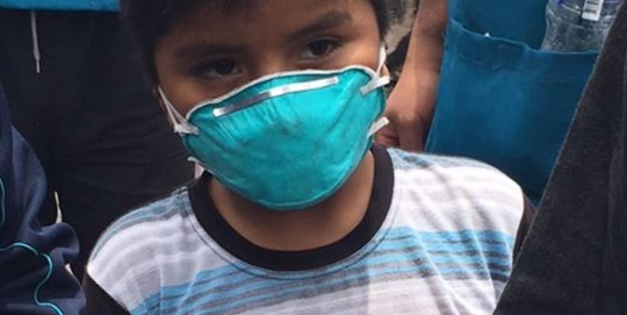 Perù, l'insediamento di Cantagallo distrutto dalle fiamme