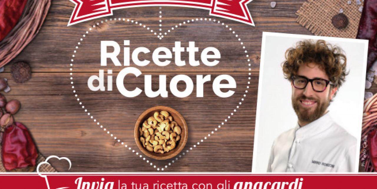 """Al via il concorso """"Ricette di Cuore"""" con lo Chef Mirko Ronzoni"""