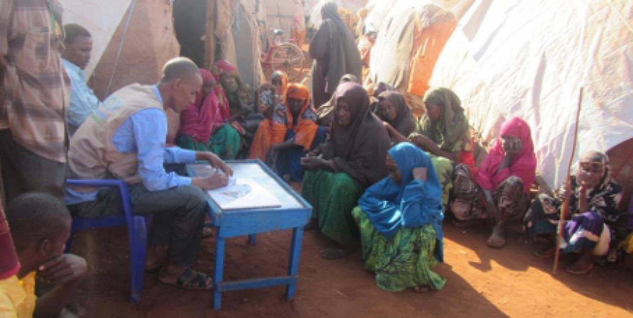 Viaggio tra i campi della Somalia