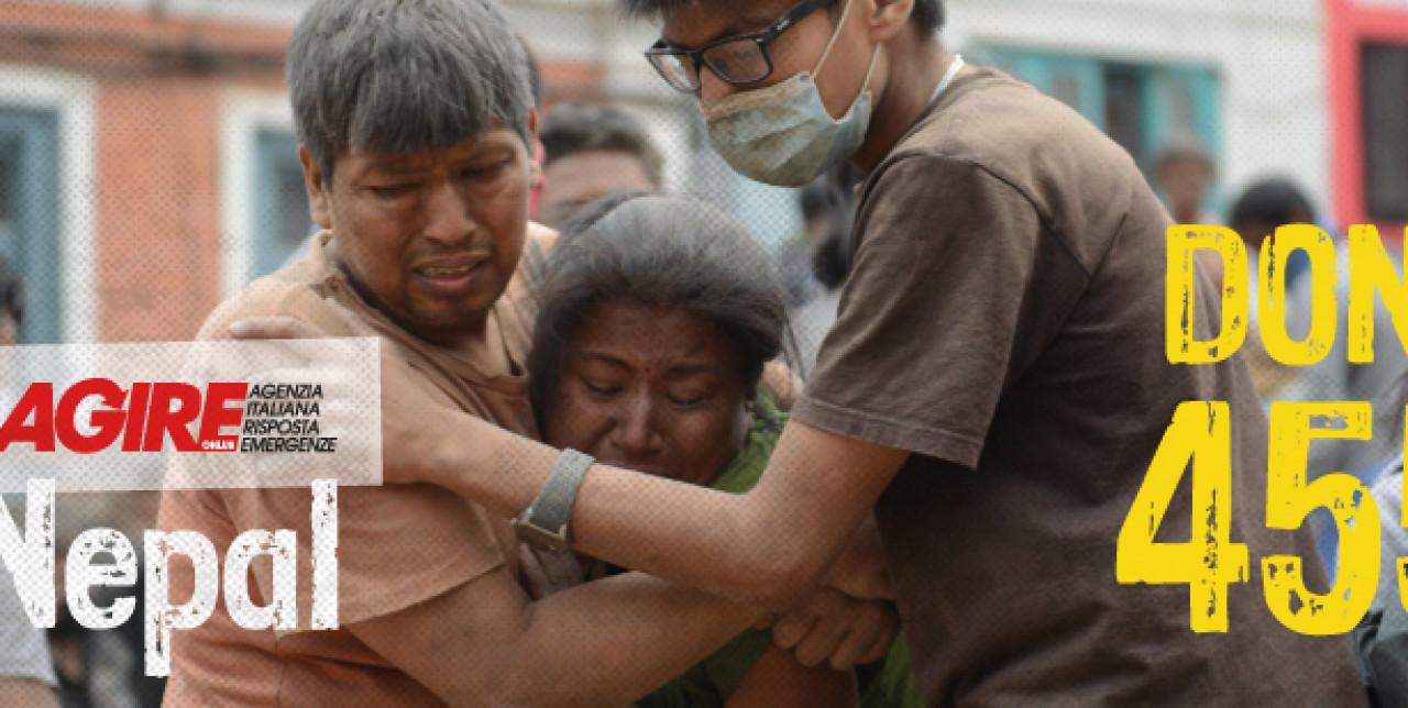DONA AL 45591 PER I TERREMOTATI DEL NEPAL